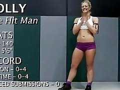Hot pretty girl dominated...