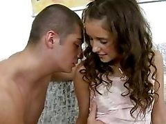 Teen getting rimmed