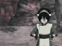 Avatar Porn  Toph training