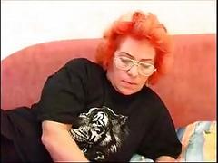 orange haired fat ass milf 3