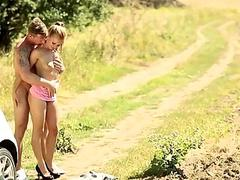 Czech Teen Girl Gets Fucked...