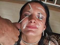 For double blowjob she...