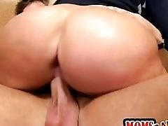 Huge tits and ass MILF...