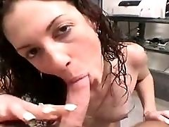 Girlfriend Gives A Blowjob