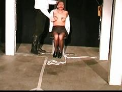 Slave gets all beaten